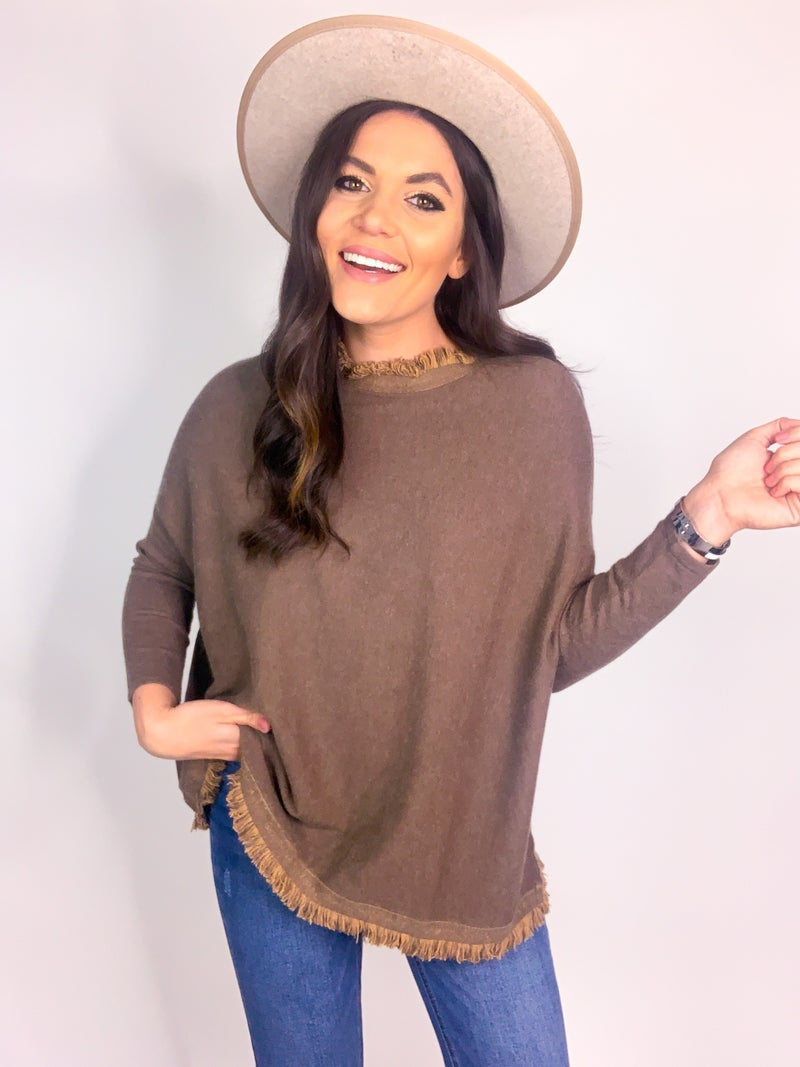 Down To The Nitty Gritty Sweater *Final Sale*
