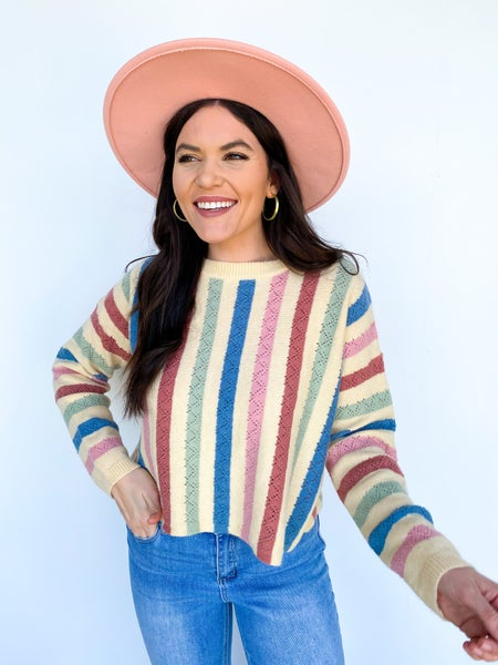 Candy Store Multicolor Sweater