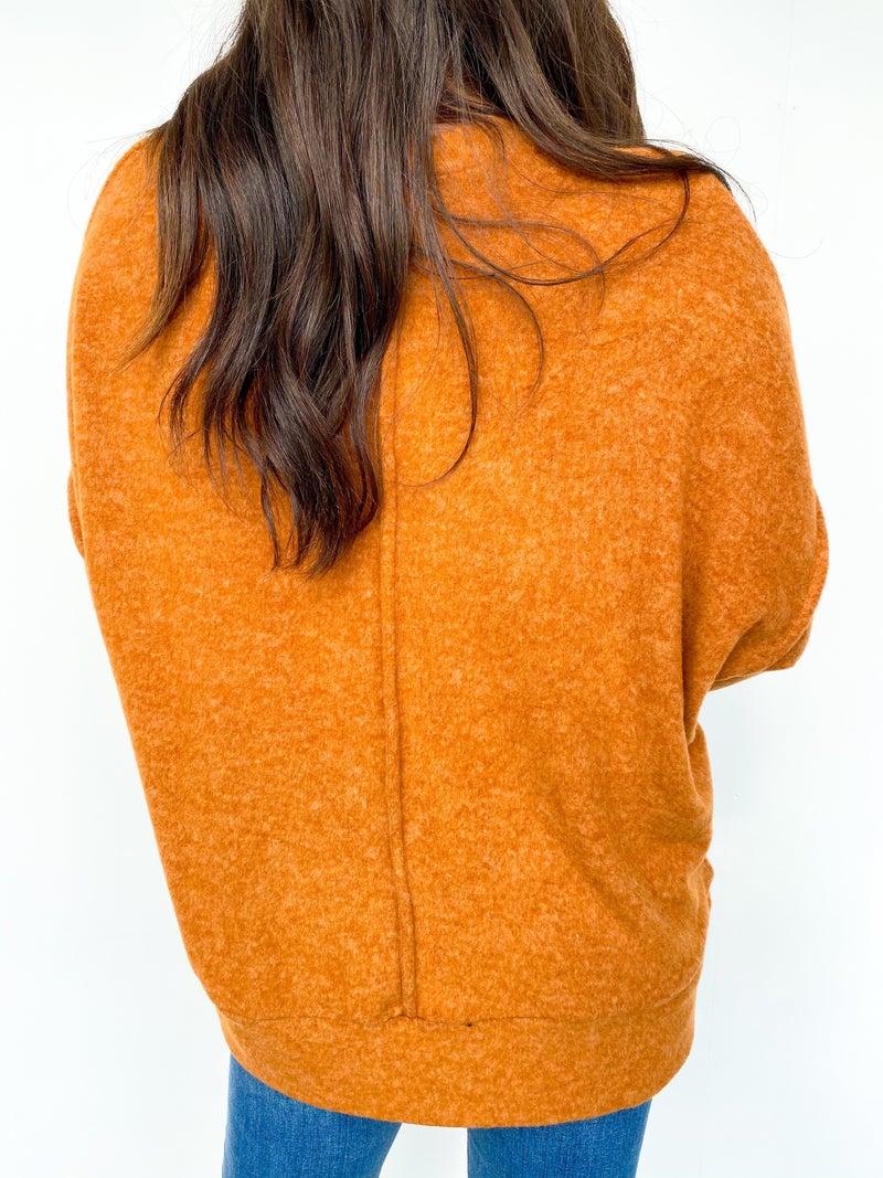 Peace Of Mind Over Sized Front Pocket Sweatshirt