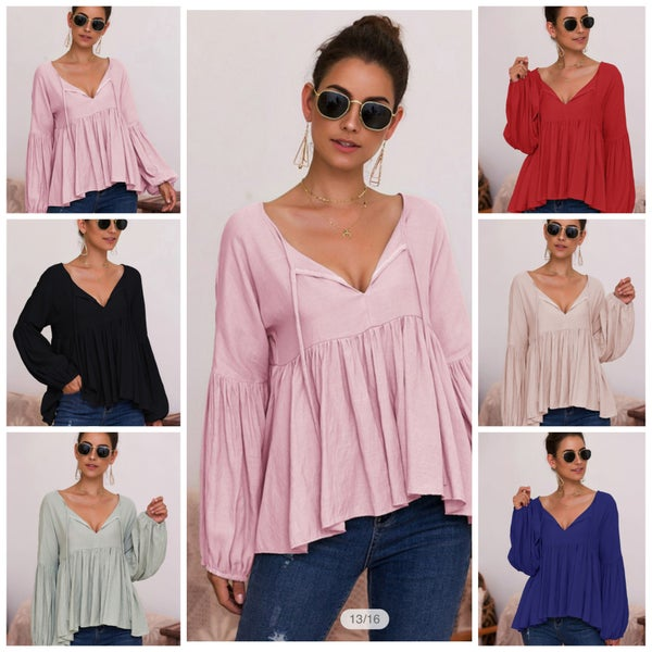 Morgan Long Sleeve Blouse