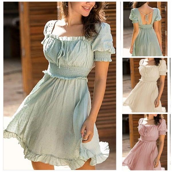 Annabelle Puff Sleeve Dress