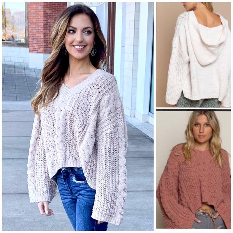 Gracie Chenille Sweater