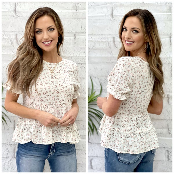 Rayna Floral Top