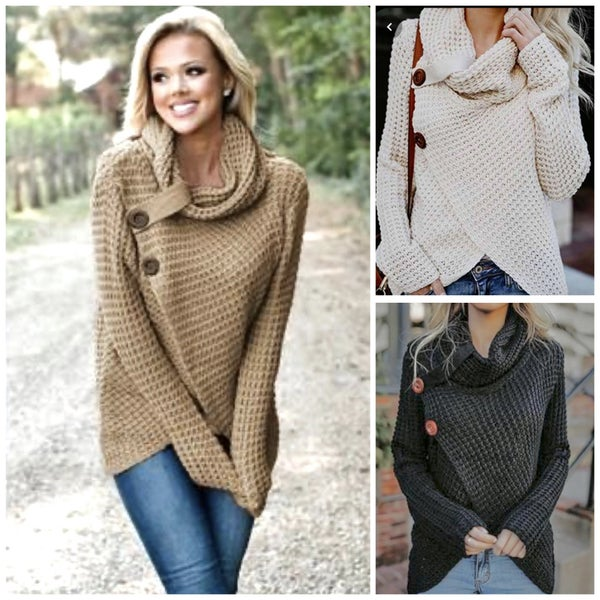 Sydney Cable Knit Sweater
