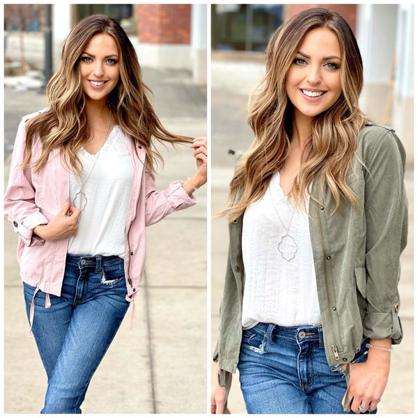 Janie Hooded Jacket