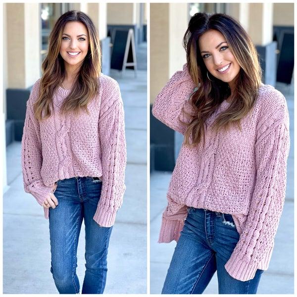 Cora Chenille Sweater