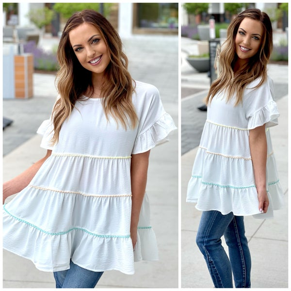 Kinley Tiered Top