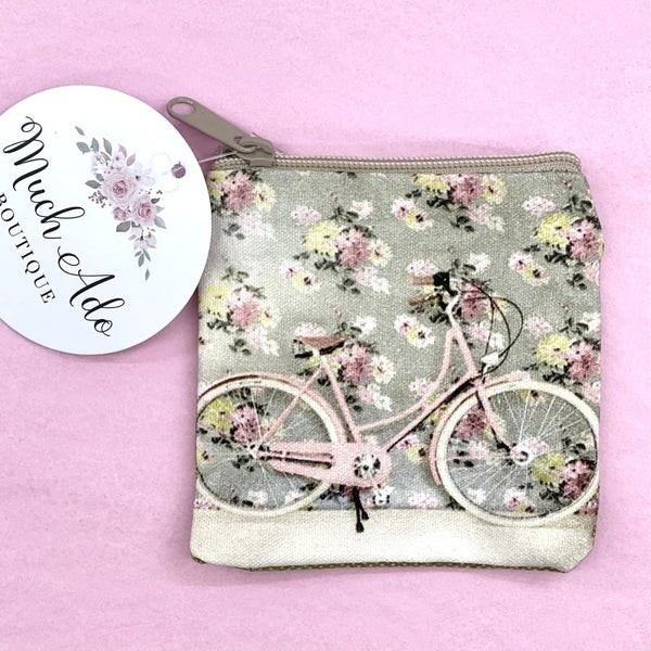 Bicycle Coin Purse