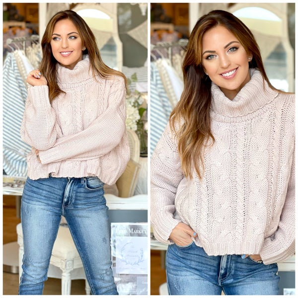 Londyn Cable Knit Sweater