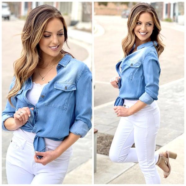 Tessa Chambray Shirt