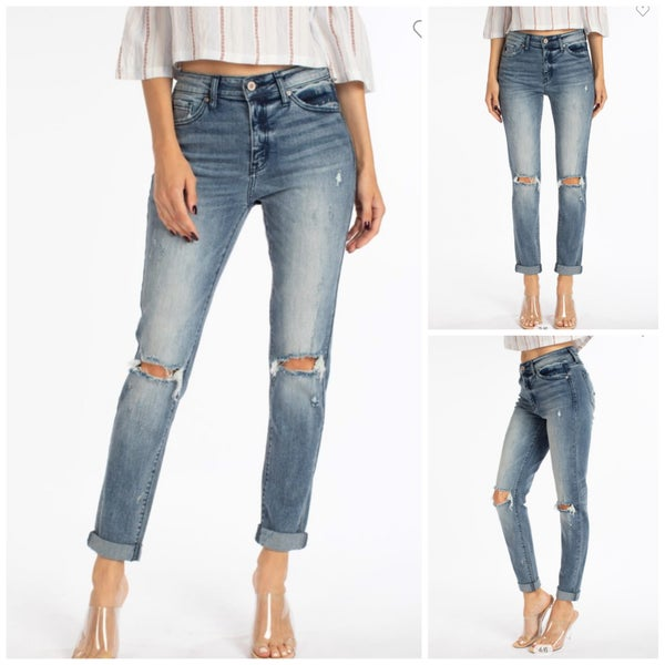 Dakota Distressed Denim