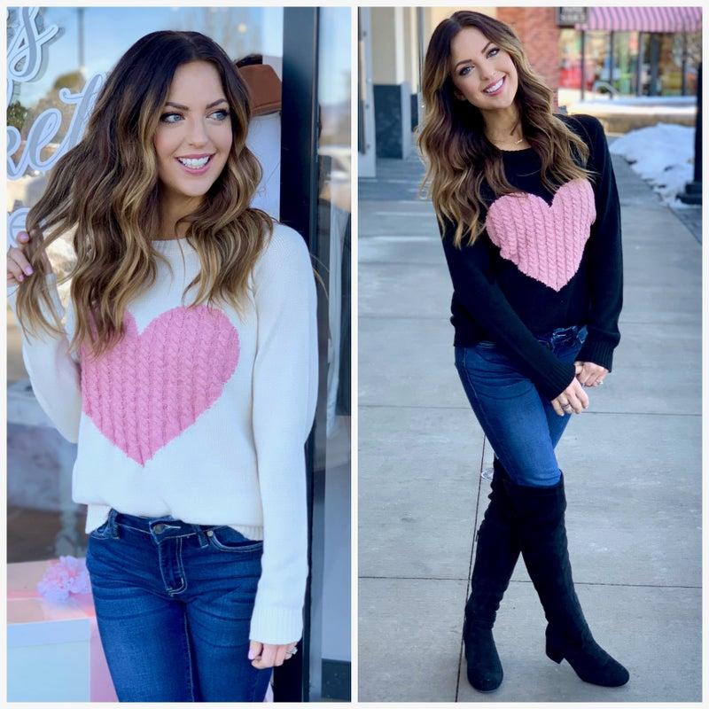 Sweetheart Sweater