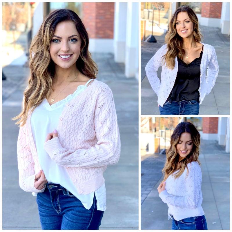 Joanna Button-Up Sweater
