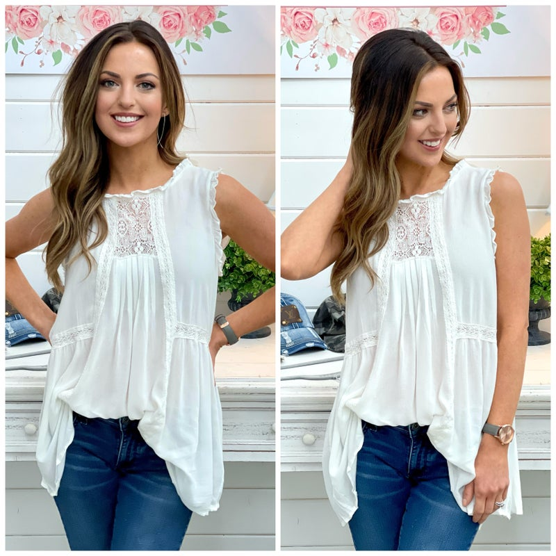 Maisey Lace Top