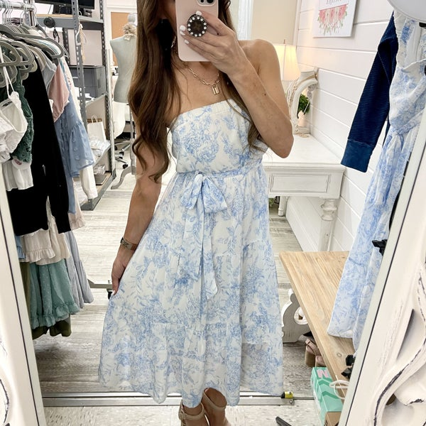 Stella Strapless Dress