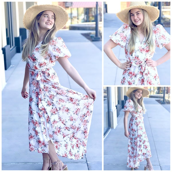 Addison Floral Sundress