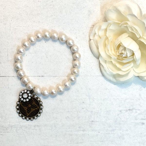 LV Pearl Charm Bracelet