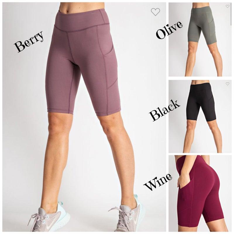 Marlee Buttersoft Biker Shorts