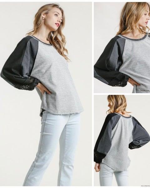 Callie Colorblock Sweatshirt