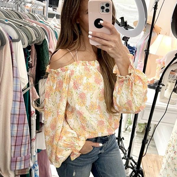 Kimberly Floral Top