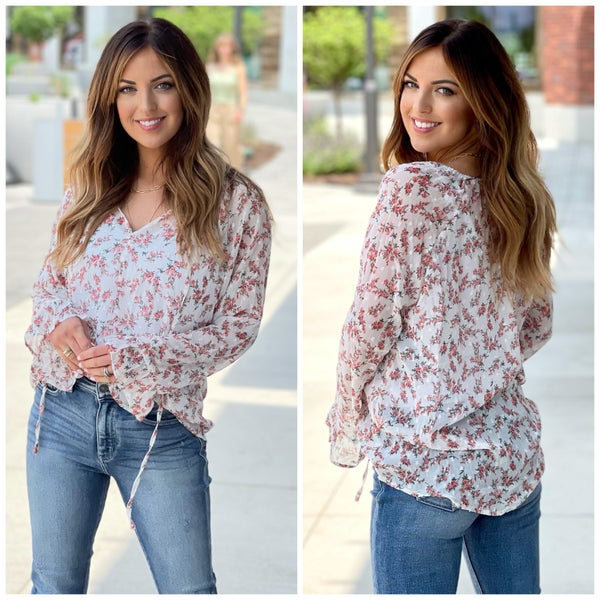 Remi Floral Top