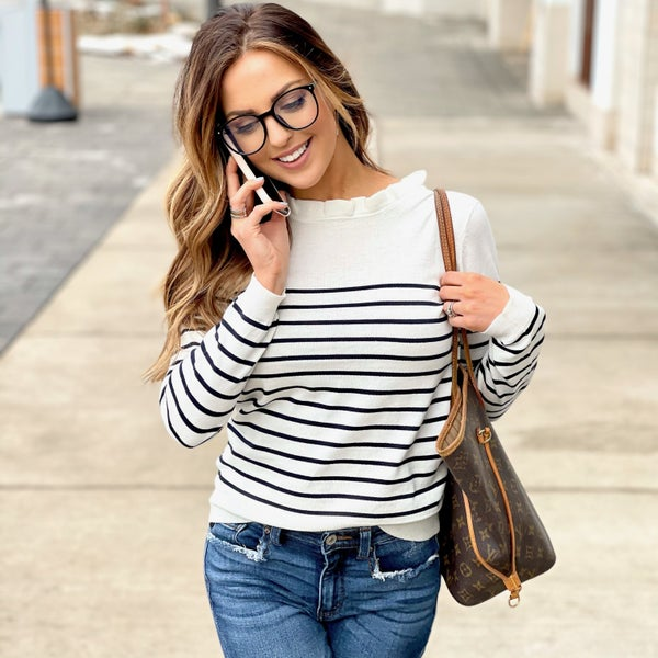 Lily Striped Sweater