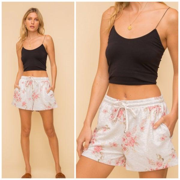 Cara Vintage Floral Shorts