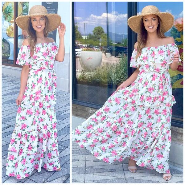 Talena Floral Maxi Dress
