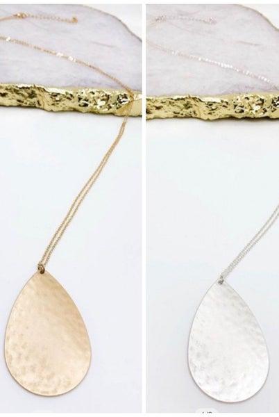 Classic Teardrop Necklace