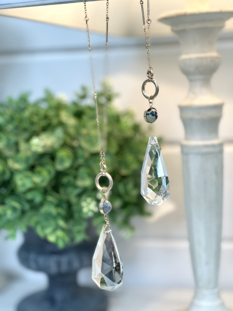Crystal and Stone Necklace