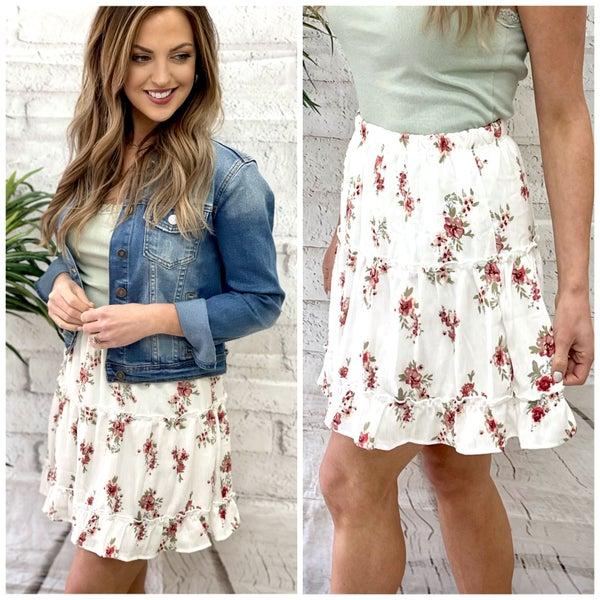 Brynn Floral Skirt