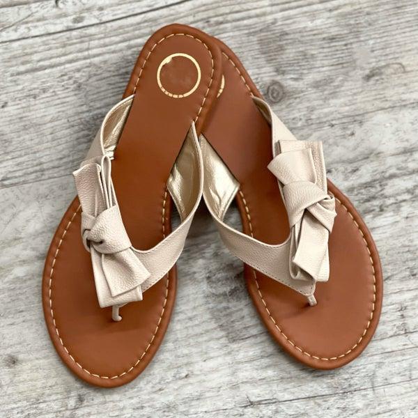 Side Bow Sandal *Final Sale*