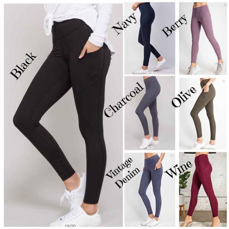 Megan Butter Soft Pocket Leggings