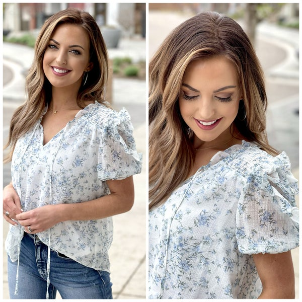 Ainsley Floral Top