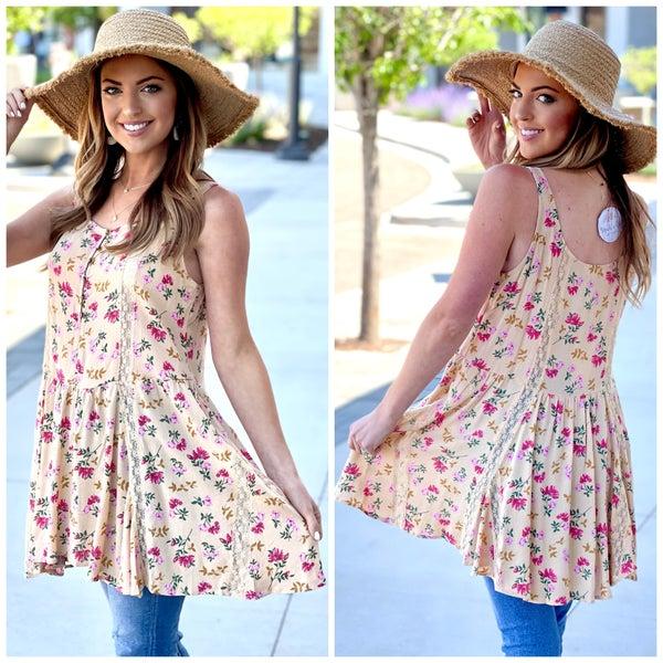 Hallie Floral Tunic
