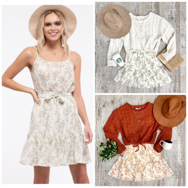 Ellison Floral Dress