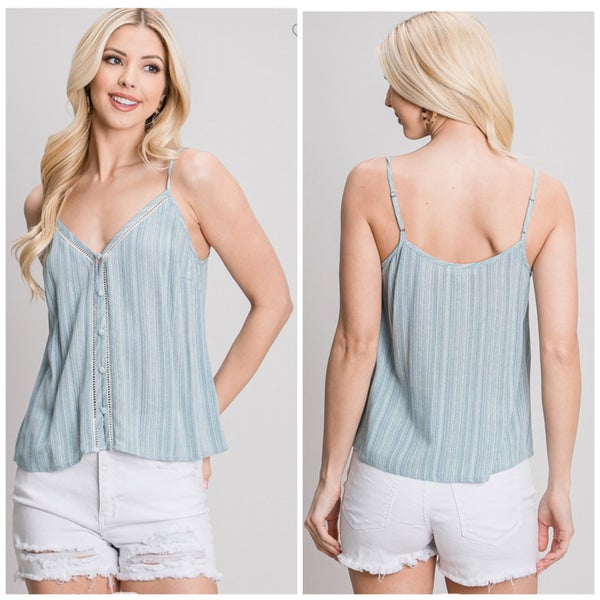 Catalina Button Cami