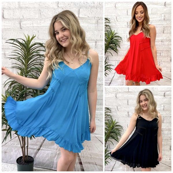 Mya Flounce Dress *Final Sale*