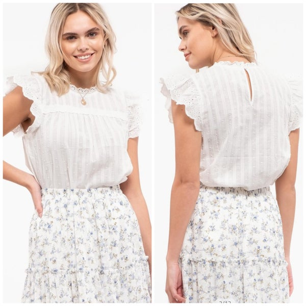 Tinsley Eyelet Top