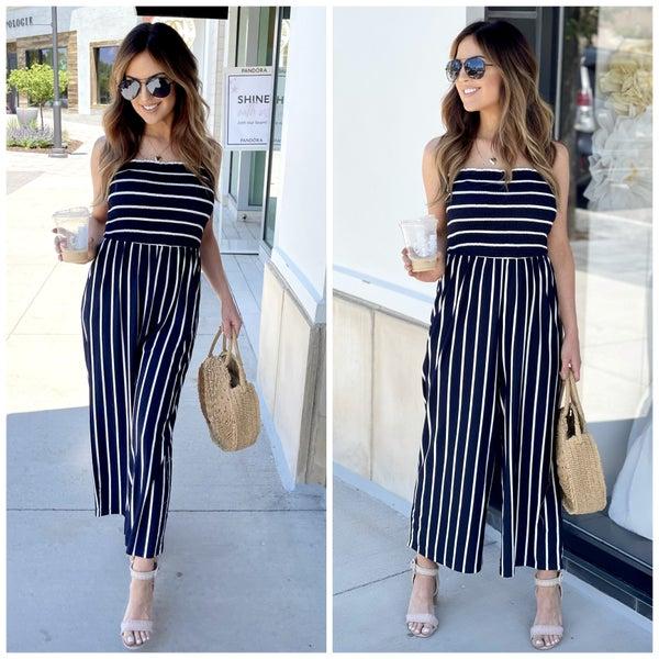 Gabby Striped Jumpsuit