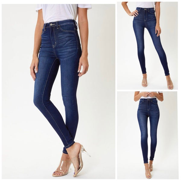 Maria High-Waisted Denim