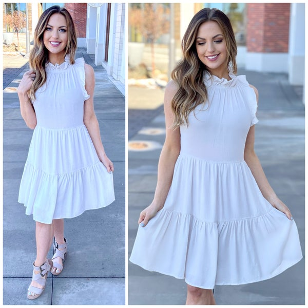 Layla Ruffle Dress