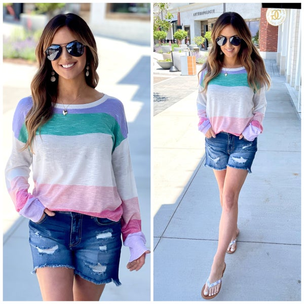 Brittany Summer Sweater