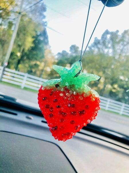 Strawberry shortcake freshie