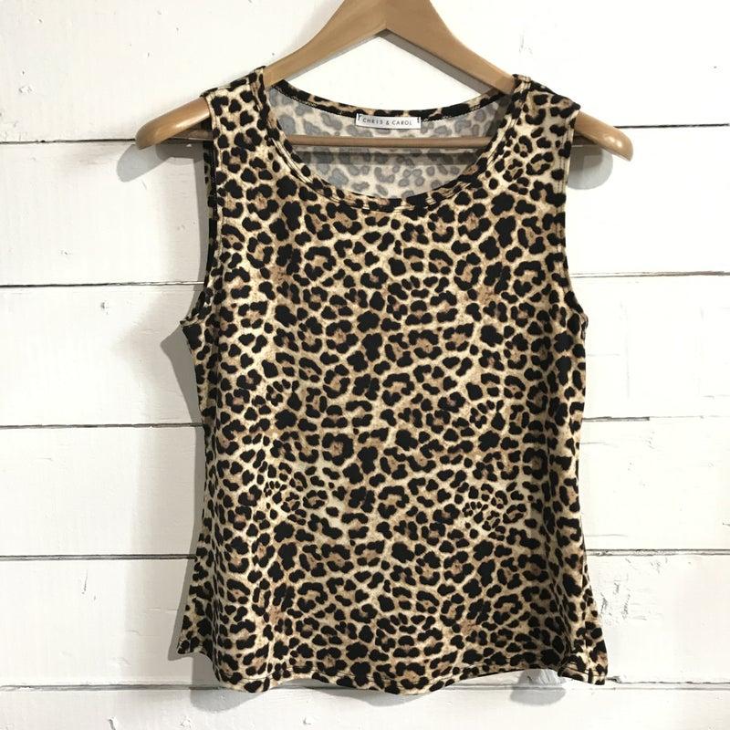 Leopard Print Tank *Final Sale*