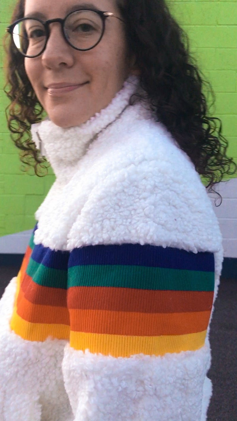 S, M, L | That 70s Rainbow Jacket