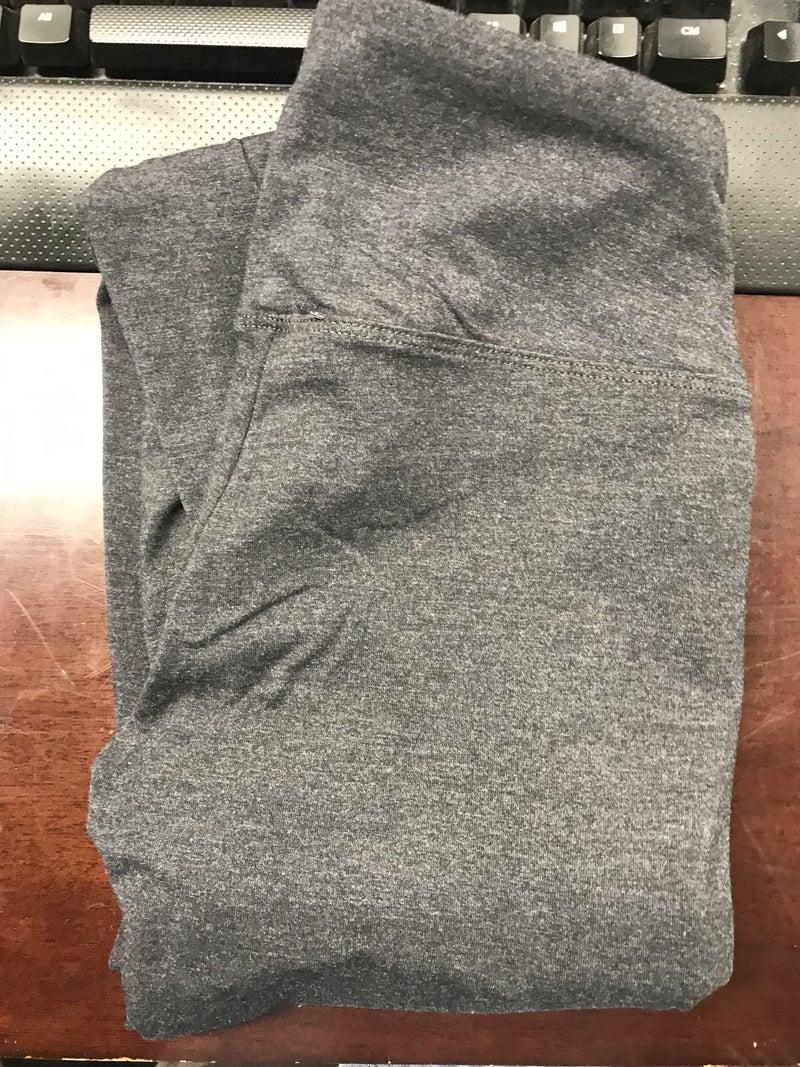 Cotton-Blend, Wide Waistband Full Length Leggings