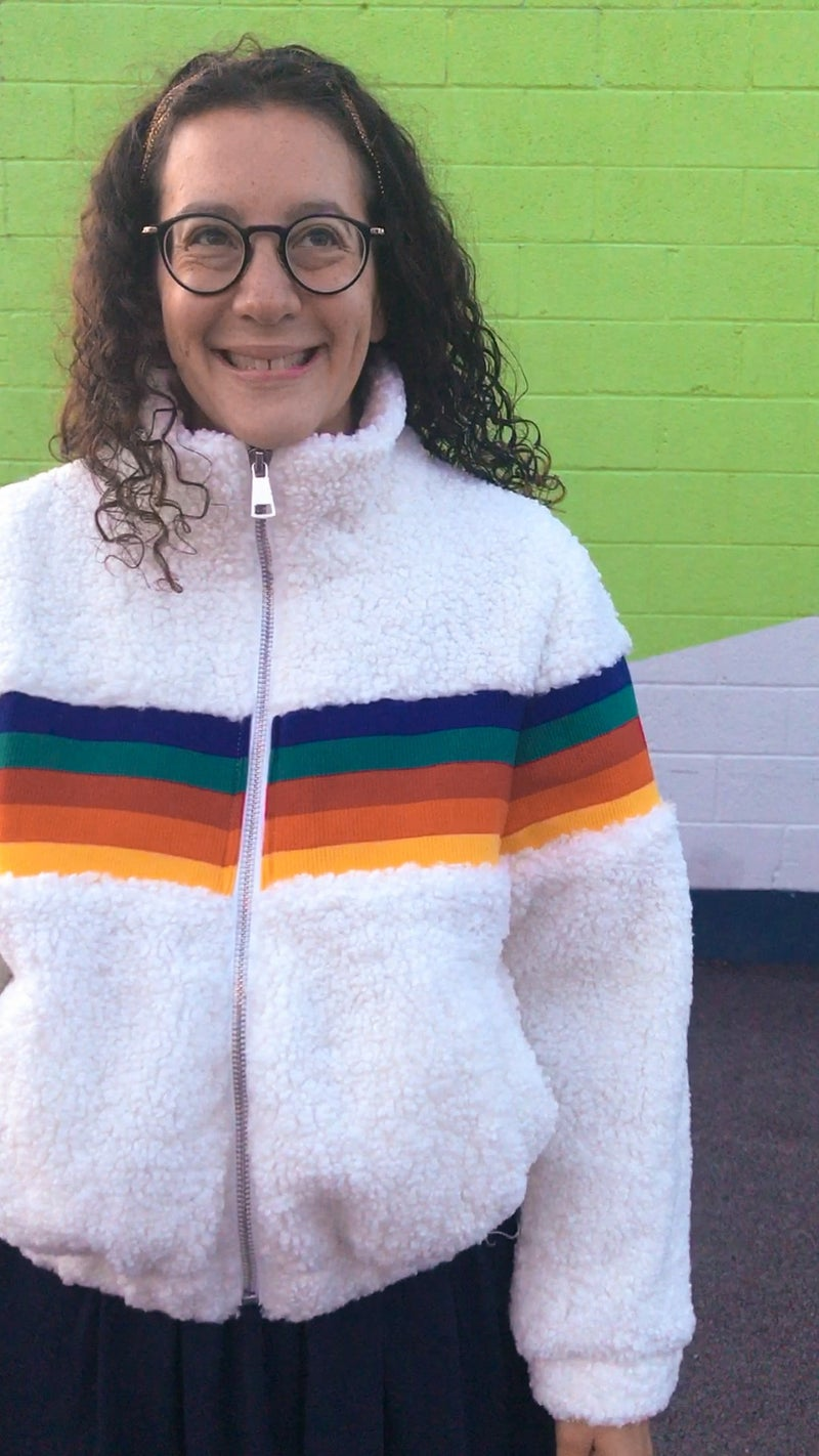 That 70s Rainbow Jacket