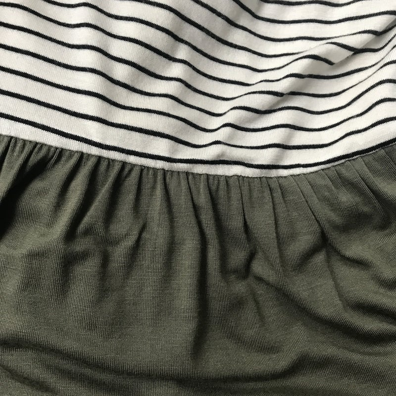 Striped Sage All Purpose Dress