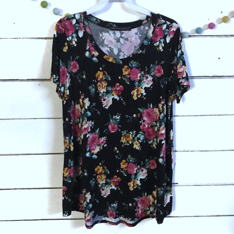 Plus Floral T-Shirt